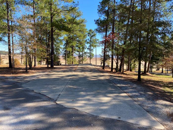 North Abutment Campground Site ThirtyNorth Abutment Site Thirty