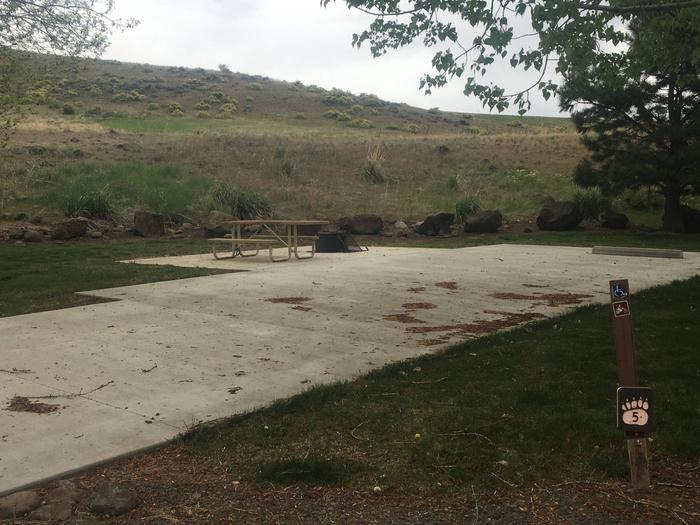 Mann Creek Site 5