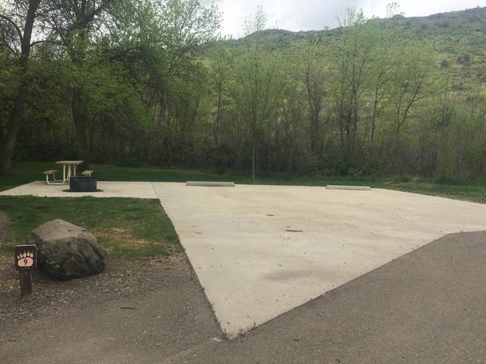 Mann Creek Site 9