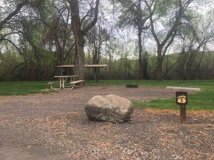 Mann Creek Site 11