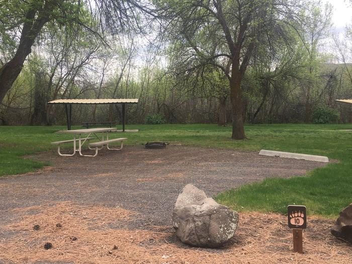Mann Creek Site 10