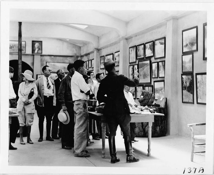 Exhibits in 1932The Loomis Museum originally served to showcase photographs captured by Benjamin F. Loomis.