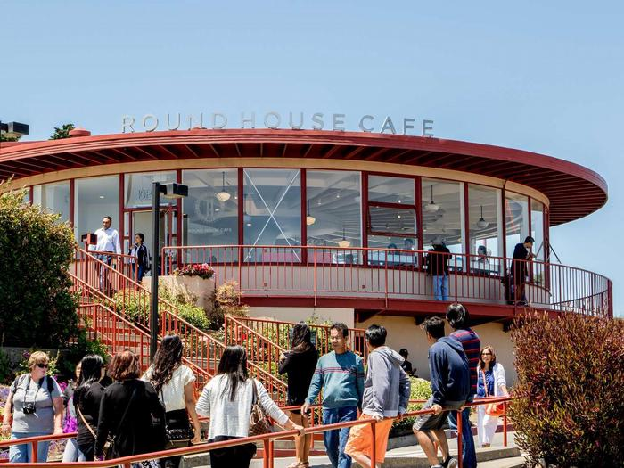 Round House CafeThe Round House Cafe at the Golden Gate Bridge Pavillion