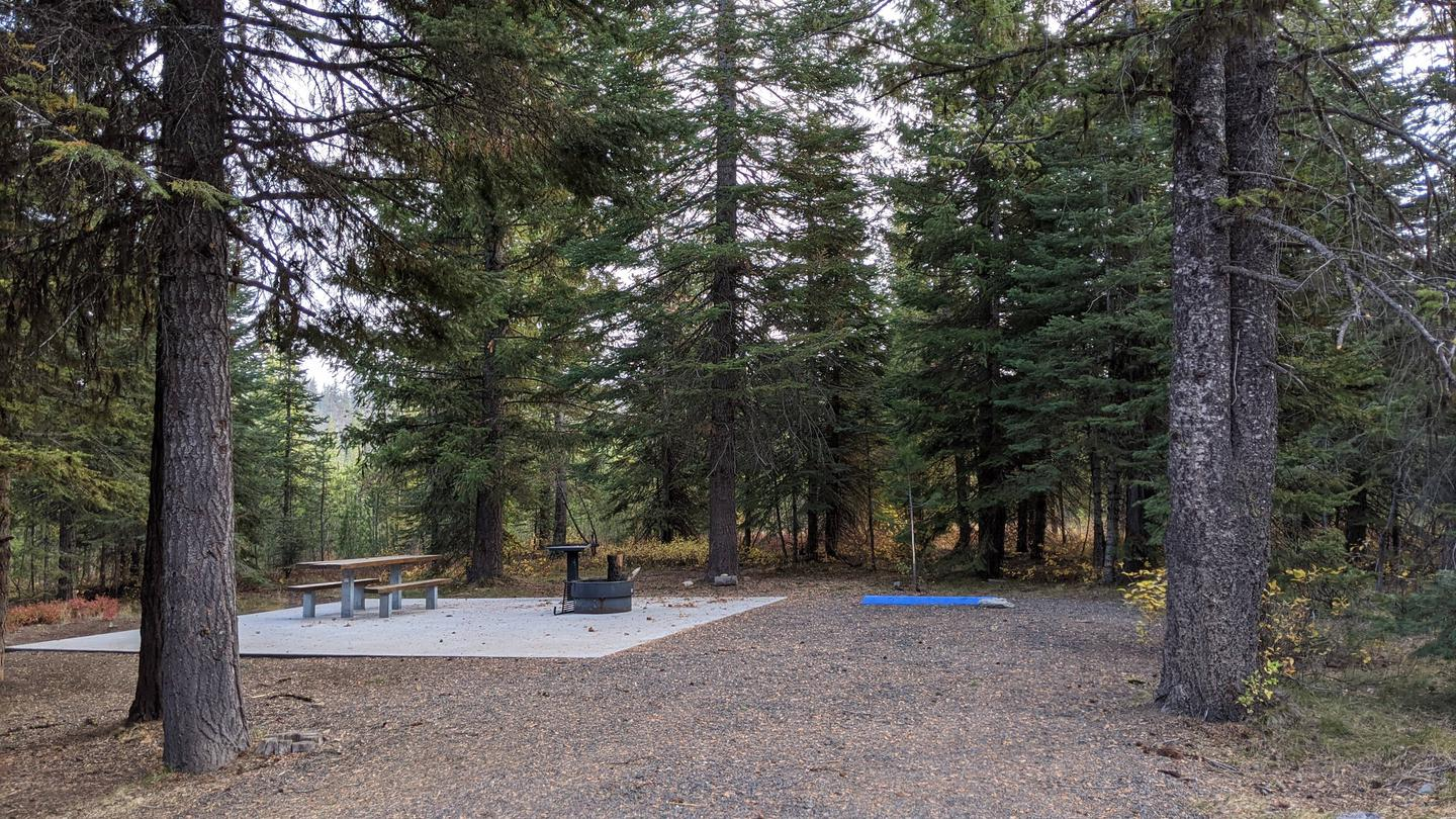 Cold Springs Campground campsite