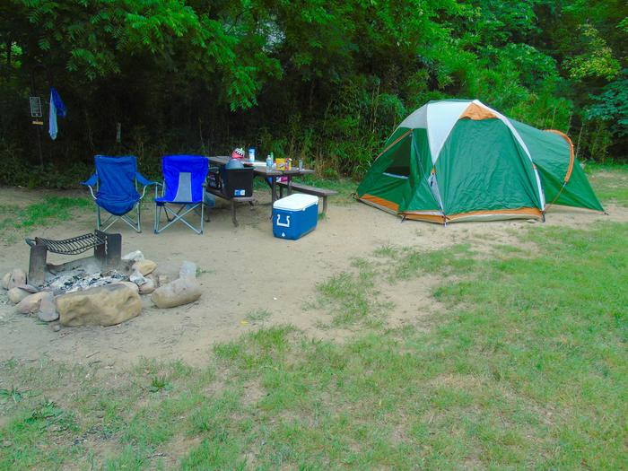 Steel Creek Camp Site #4