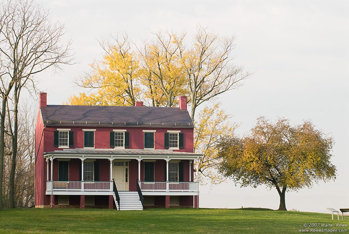 The Worthington HouseThe Worthington House is one of the most iconic locations on the battlefield.