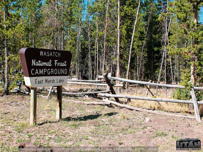 East Marsh Lake CampgroundMarsh Lake Campground
