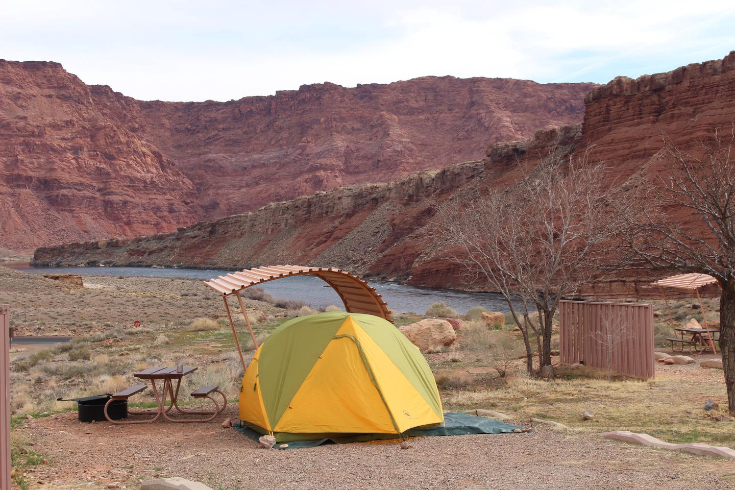 Lees Ferry Campground 1Enjoy the view of the Colorado River at Lees Ferry Campground