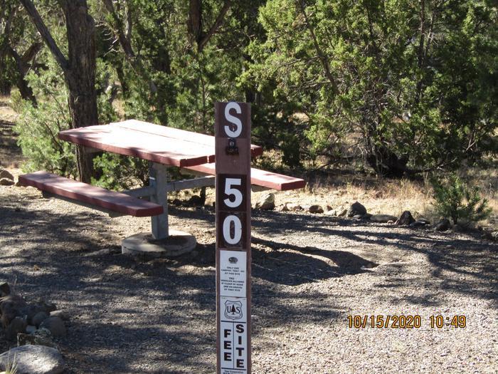 Camping site #50 Campsite #50