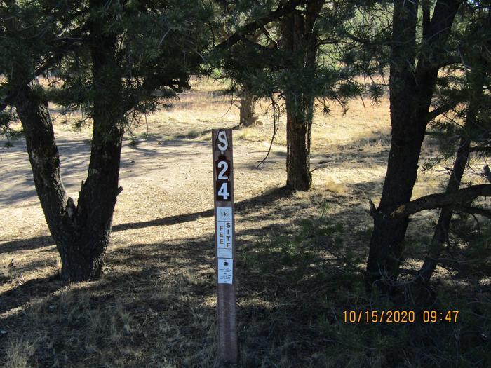 Campsite #24Camping site #24