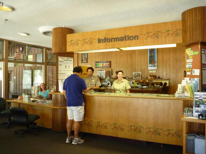 Kings Canyon Visitor CenterVisit our information desk to get trip questions answered or to plan an overnight wilderness trip.