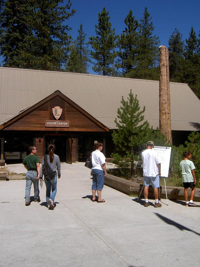Lodgepole Visitor CenterVisit our newly-renovated Lodgepole Visitor Center.