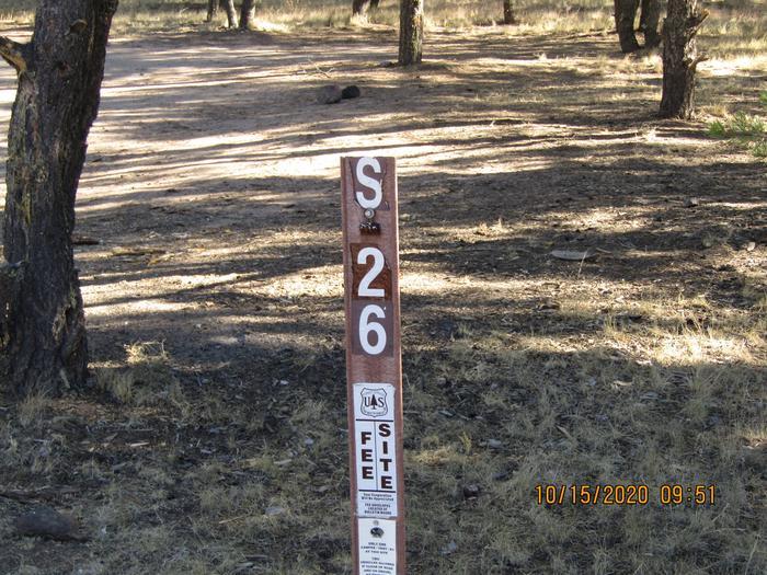 Campsite# 26Camping site #26