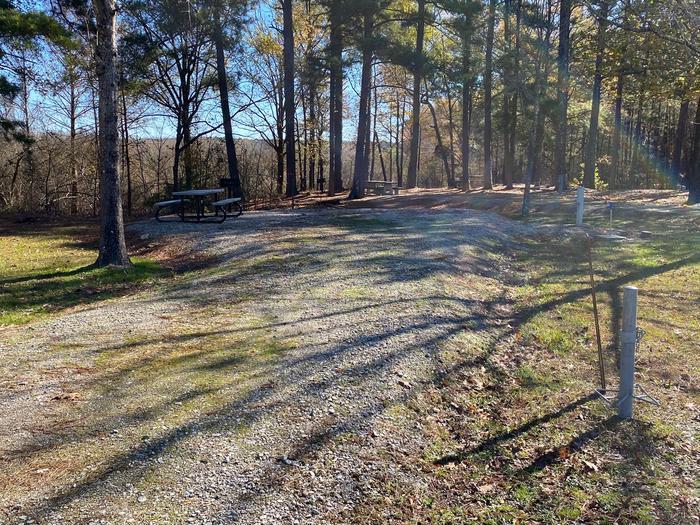 Gums Campground Site 3