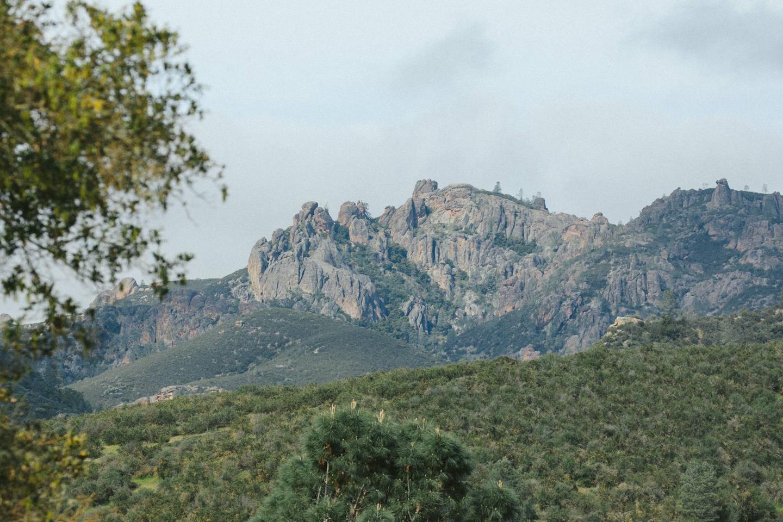 View of Pinnacles FormationsPinnacles Campground Views