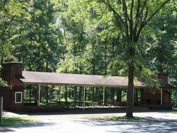 Open Air Picnic ShelterOpen shelter for picnics and special events