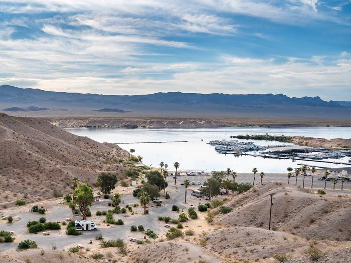 Cottonwood Cove Campground 2614Cottonwood Cove Campground Overview lakeside