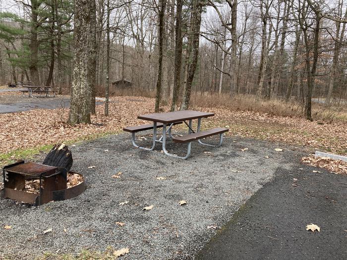 Mathews Arm Campground Site 014