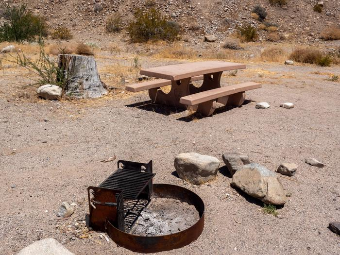 CWC 1702Cottonwood Cove Campground Site 17