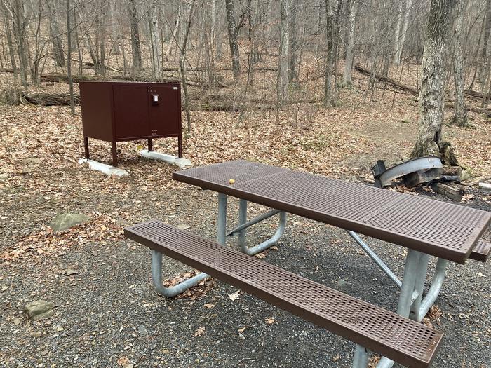 Mathews Arm Campground Site A001