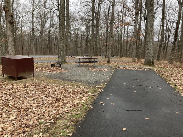 Mathews Arm Campground Site 030