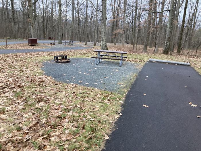 Mathews Arm Campground Site 032