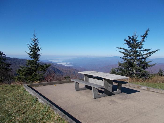 View from Waterrock KnobWaterrock Knob's stunning views are a perfect picnic spot