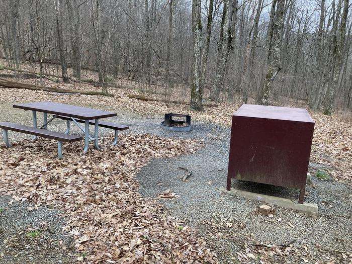 Mathews Arm Campground Site 027