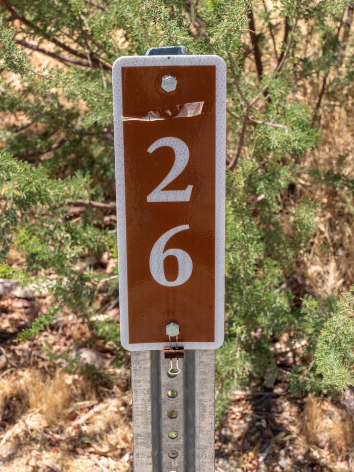 CWC 2600Cottonwood Cove Campground Site 26