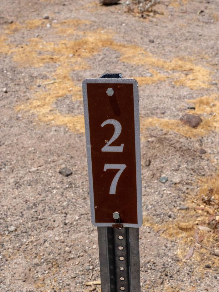 CWC 2700Cottonwood Cove Campground Site 27