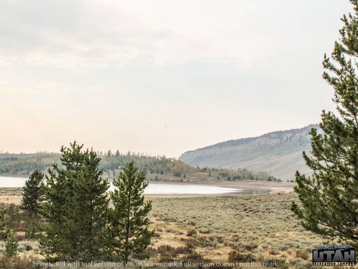 Hoop Lake Trailhead Campground viewHoop Lake Trailhead Campground