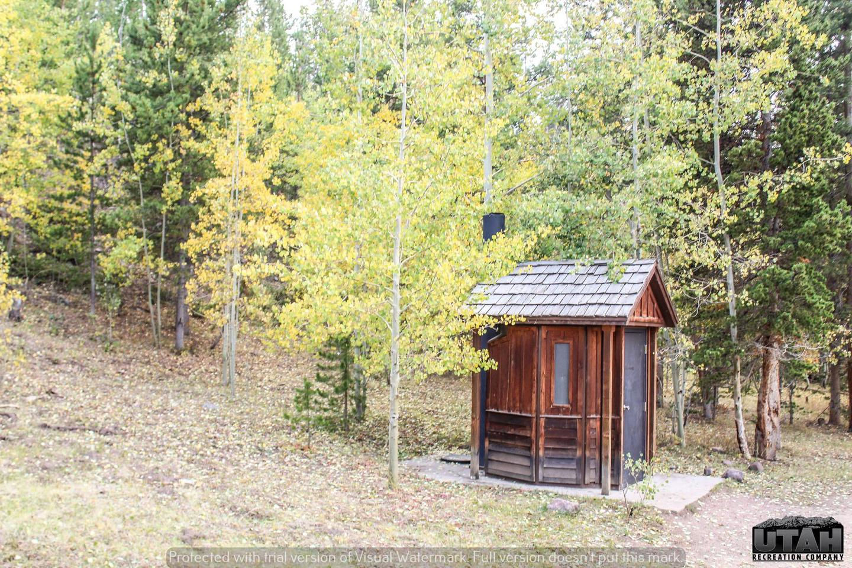 Hoop Lake Trailhead Campground vault facility