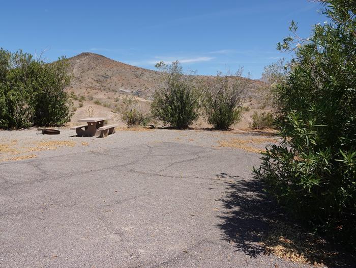 CB 4001Callville Bay Campground Site 40