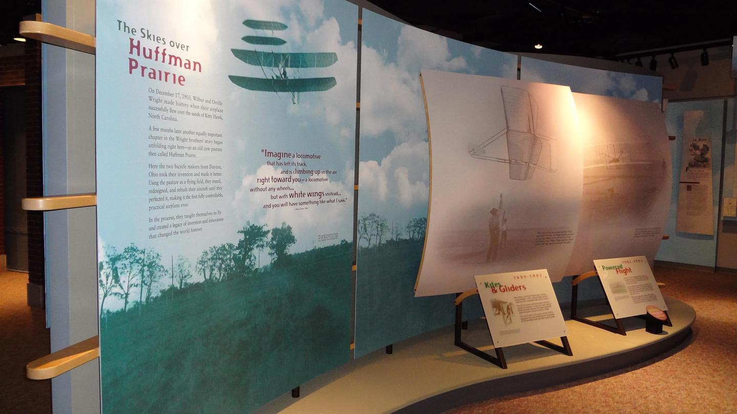 Interpretive ExhibitsOne of the many interpretive displays in the visitor center.