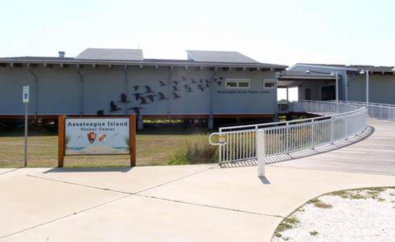 Assateague Island Visitor Center (MD)Assateague Island Visitor Center Exterior View