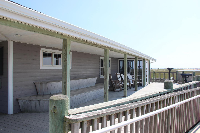 Toms Cove Visitor Center (VA) side deck