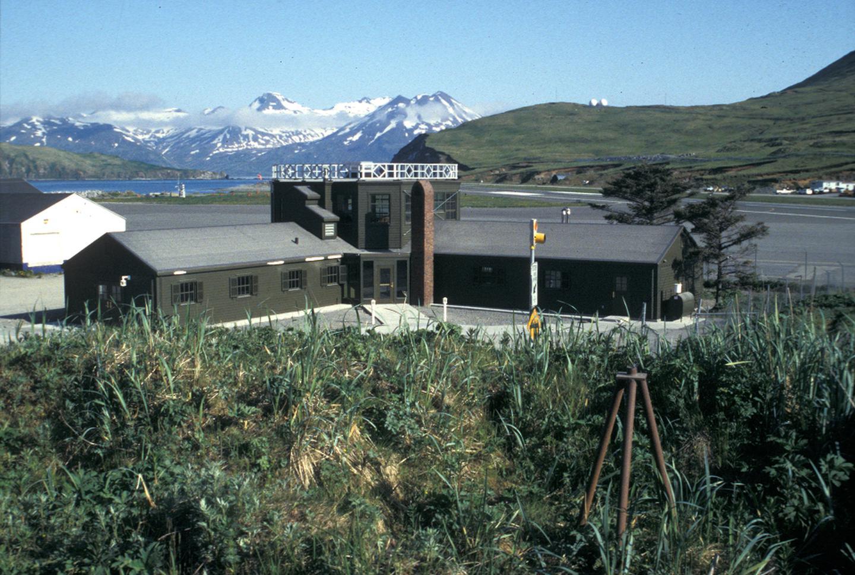 Aerology Building Visitor CenterThe Aerology Building serves as the visitor center for the Aleutian Islands World War II National Historic Area.