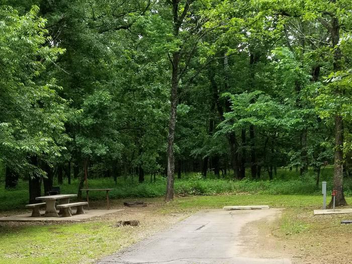 Mound Valley Site #42  30 amp & water