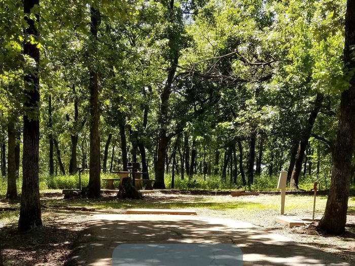 Mound Valley Site # 65  30 amp & water