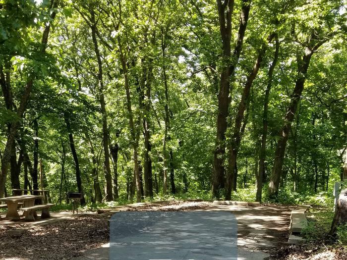 Mound Valley Site #74  30 amp & water