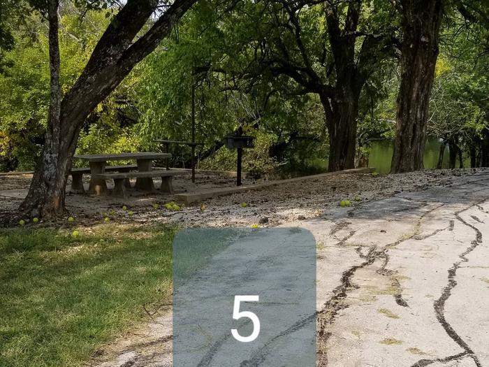 Mound Valley Site #5  non-electric