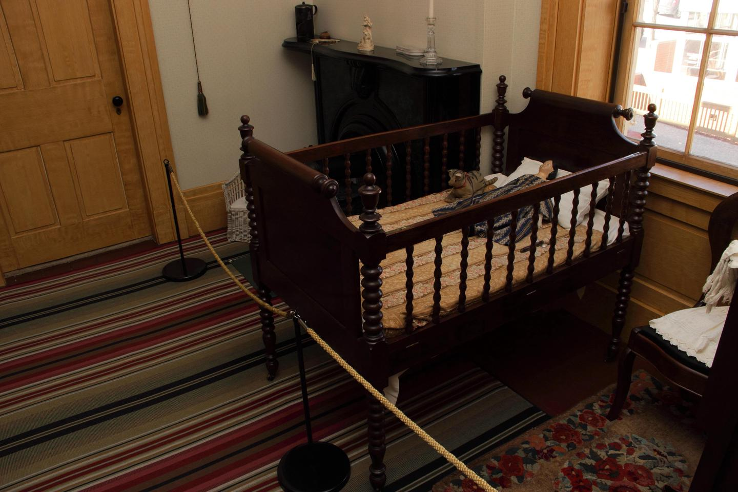 Taft's cribThe crib used by William Howard Taft when he was a baby.
