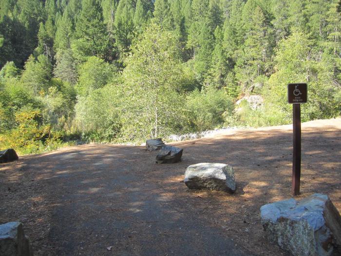 Handicap Accessible WalkwayIndian Valley Campground