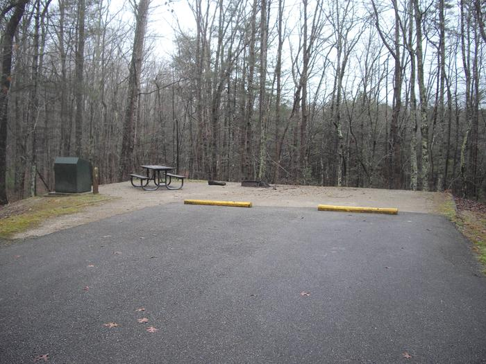 A-40A-40 is a double parking site secluded and a short walk to the bath house in a cul-de-sac