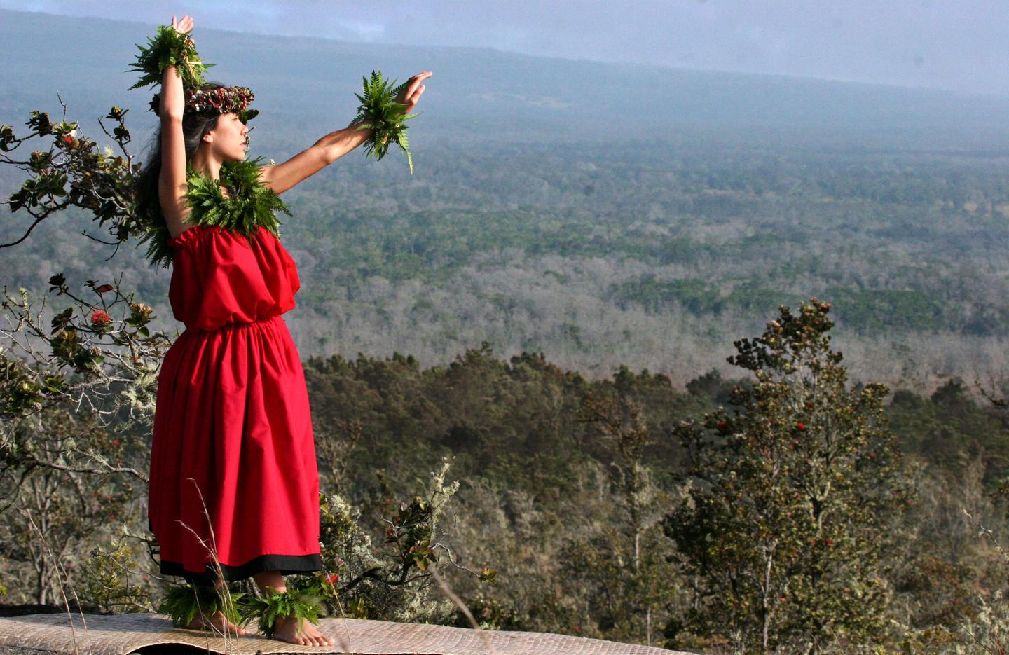 Hula at KīlaueaKīlauea is home to important and sacred cultural sites stretching back centuries.