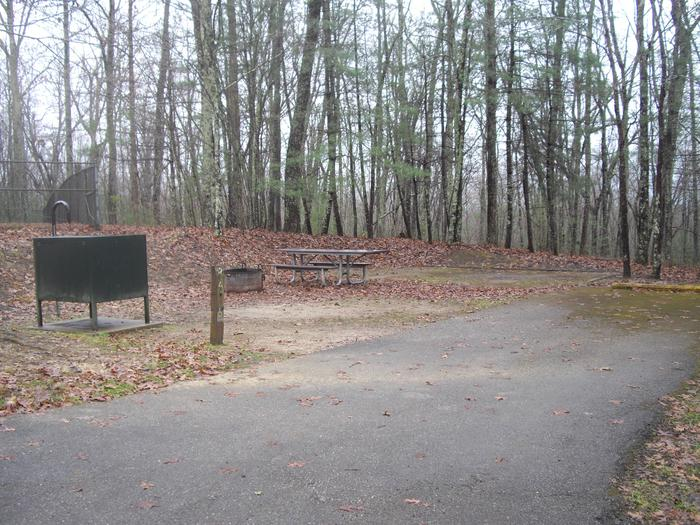 A032A032 is an accessible site across from bath house.
