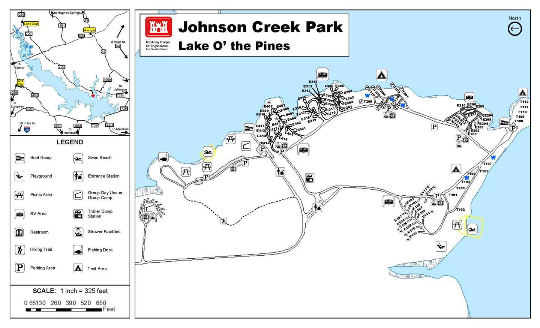 Johnson Creek Brochure Map