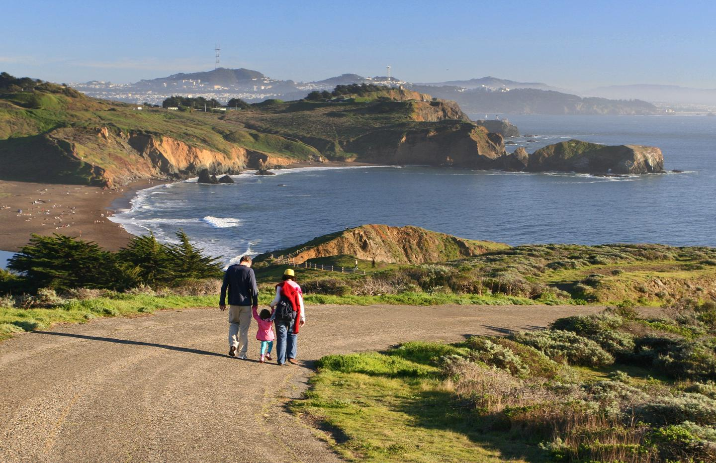 Marin Headlands and Rodeo BeachTrails in the Marin Headlands offer a fun and spectacular hiking experience for all.