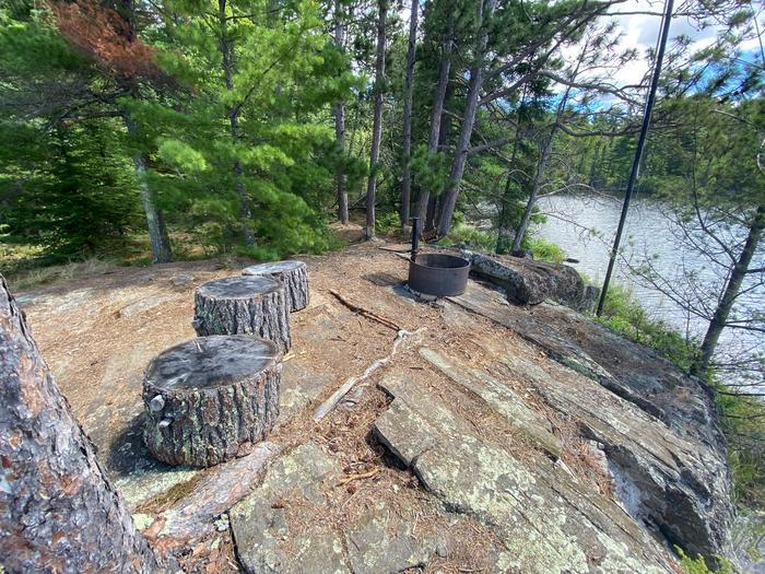 Ryan Lake campsite core area