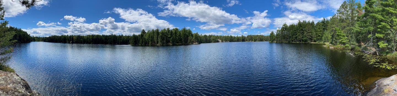 Panoramic view of Ryan Lake